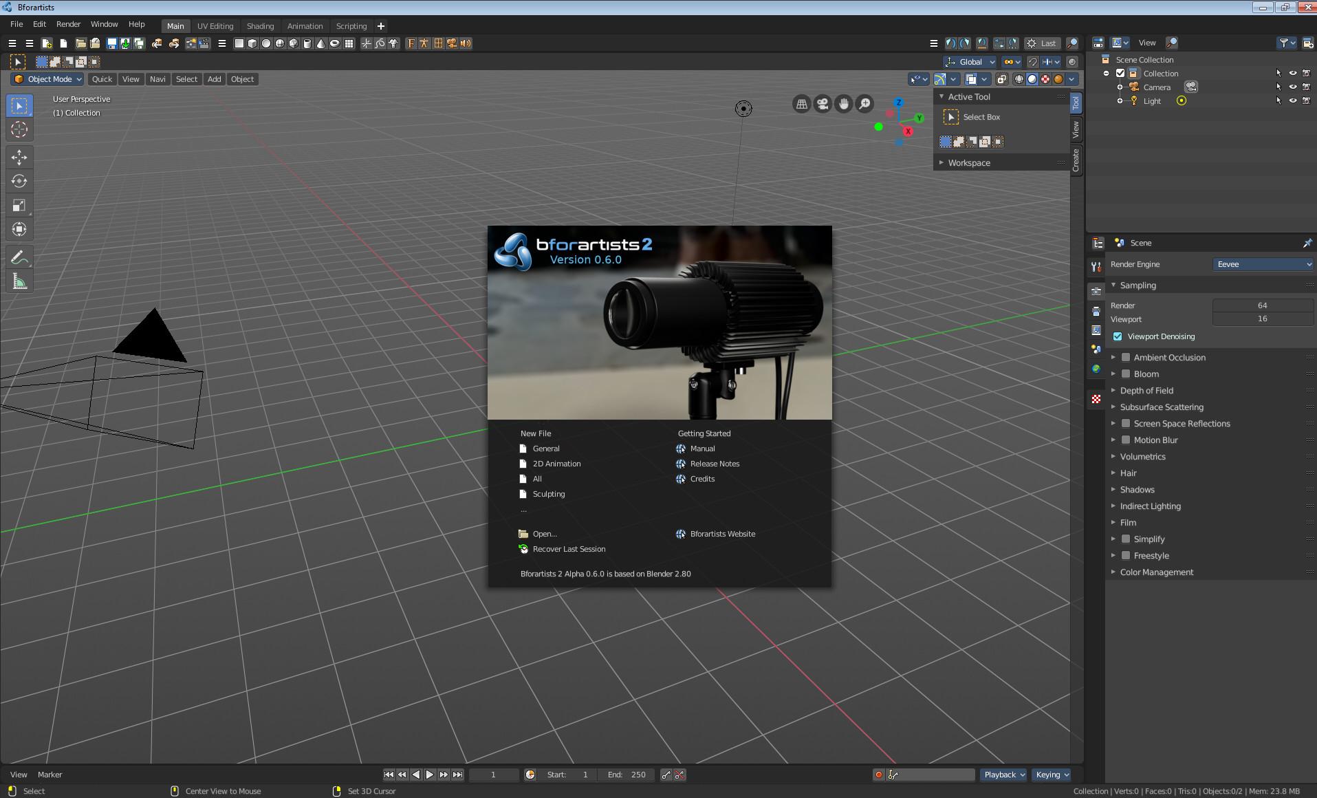 Bforartists 2 Alpha 0.6.0 released