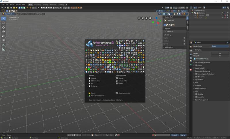 Bforartists 2 Alpha 0.7.0 released