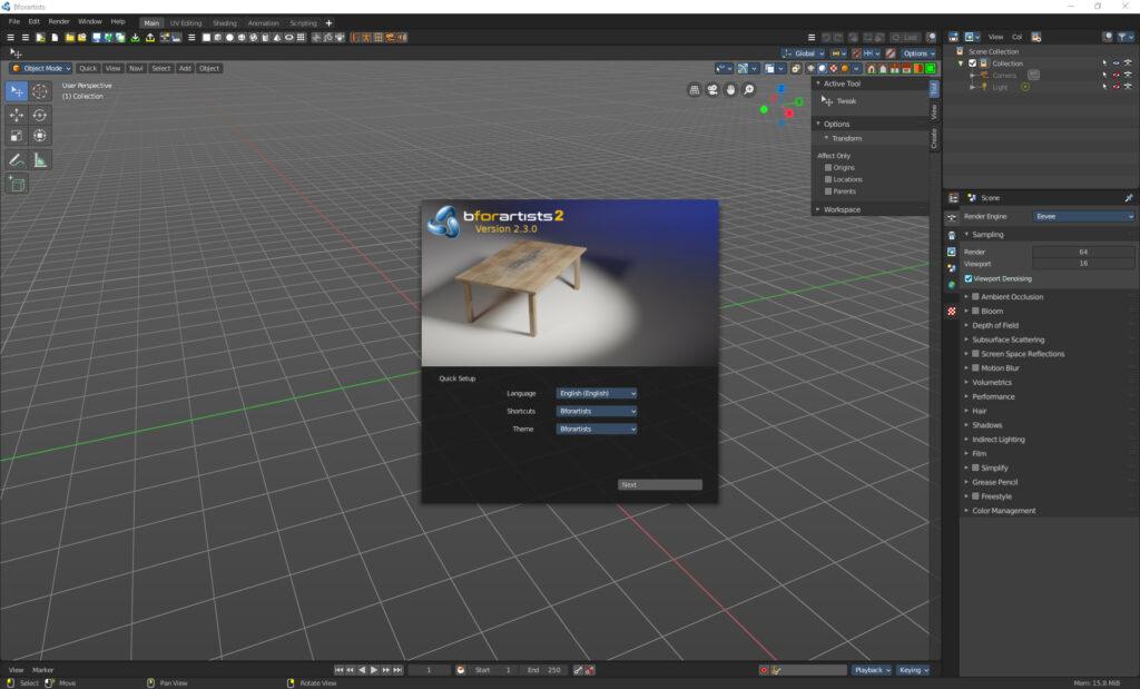 Bforartists 2 Version 2.3.0 released