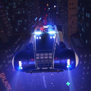 Hover Patrol Car