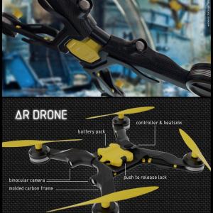 3d Vision Drone Design