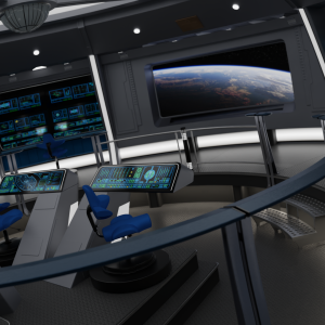 Bridge, USS Excelsior (Star Trek VI)