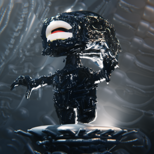 #BlenderRoyale - Numero 20 - Mini Alien