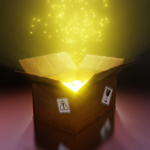 #blenderroyale - Numero 38 - Prompt: What's in the Box