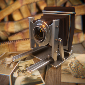 #blenderroyal - Numero 39 - Prompt: Old Camera